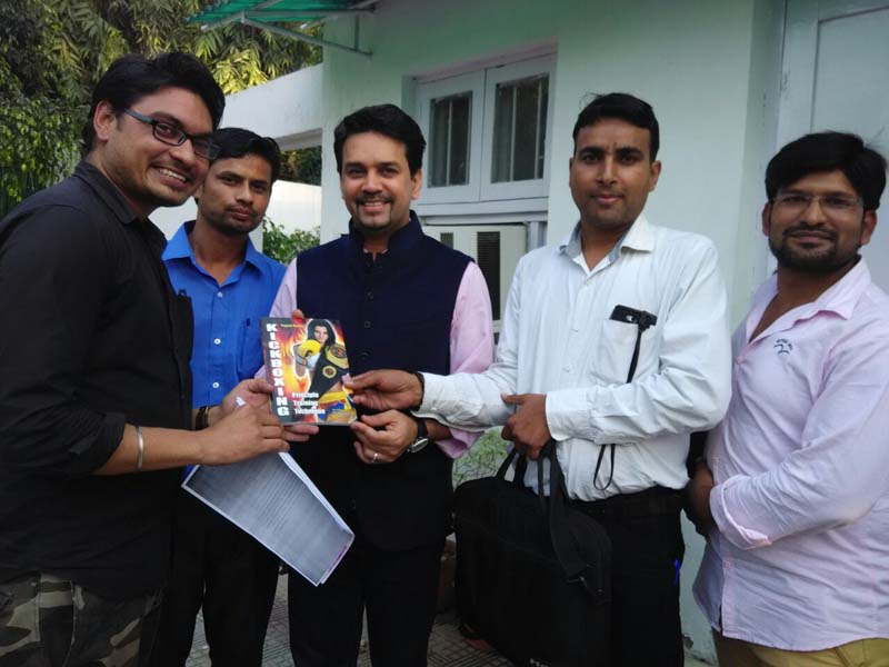 Sh Anurag Thakur - Member Of Parliament And Ex BCCI President