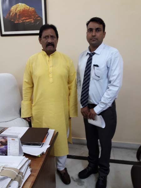 Sh Chetan Chauhan Ji - Sports Minister Of UP