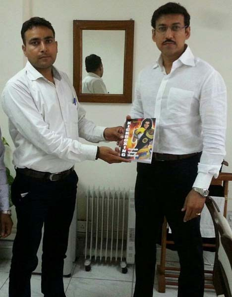 Sh. Rajyavardhan Rathore -Minister Of Youth Affairs & Sports  GOI