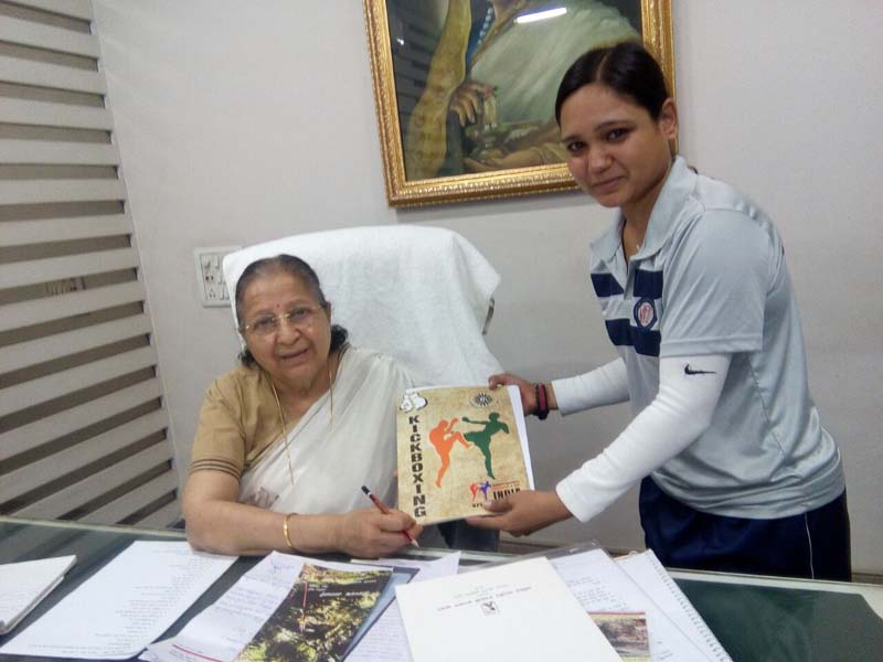 Smt Sumitra Mahajan  - Loksabha Speaker